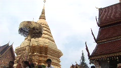 Chiang Mia scenes - stock footage
