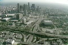 LA SKYLINE - stock footage