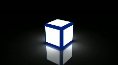 Db cube light 01 hd1080 Stock Footage