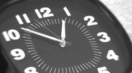 Stock Video Footage of TIME LAPSE CLOCK ZOOM BLUR