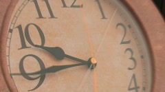 OLD TIME LAPSE CLOCK - stock footage