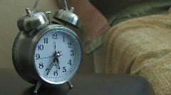 TIME LAPSE ALARM CLOCK 1 - stock footage