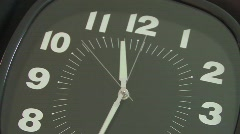 TIME LAPSE CLOCK HD Stock Footage