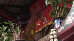 Chinese Buddhist Temple - stock footage