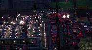 Timelapse Traffic at Dusk 09 Stock Footage