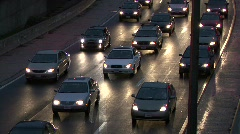 Traffic in Washington DC in HD Tons of Cars Driving - stock footage