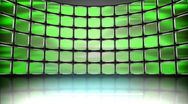 HD Animated Television Monitors Stock Footage