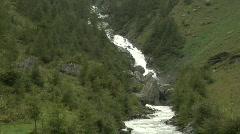 Umbal falls, Austria Stock Footage