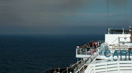 Stock Video Footage of Cruise passengers walking deck P HD 4241