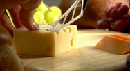 Stock Video Footage of Swiss Cheese 442