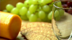 White Wine 443 Stock Footage