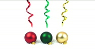 Christmas Decor Stock Footage