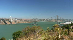 Carquinez Bridge (timelapse) Stock Footage