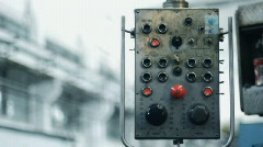 Old milling machine 011 Stock Footage