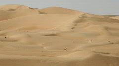 Timelapse desert dunes Stock Footage
