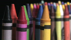 Crayons 8 - stock footage