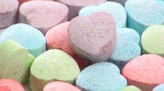 Sweetheart candy loop - HD  - stock footage