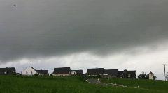 Thunder bad weather Stock Footage