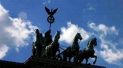Germany Berlin Brandenburgertor Stock Footage
