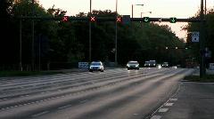 Germany Berlin autobahn expressway highway - stock footage