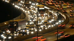 Traffic - stock footage
