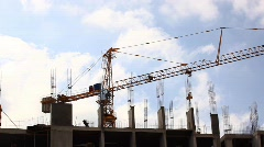 Constrution SIte  Stock Footage