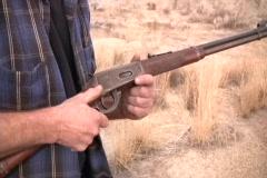 Man Loading A Gun - stock footage