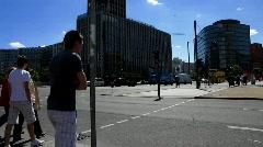 Germany Berlin Potsdamer platz Stock Footage