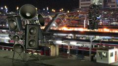 Speaker2Tower-720p Stock Footage