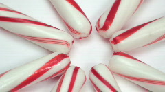 Candy cane design loop V1 - HD Stock Footage
