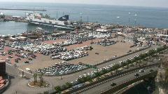 Salerno Port - Campania - Italy Stock Footage