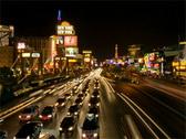 Las Vegas Strip - Night 320x240 Stock Footage