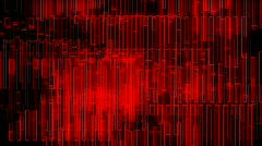 red motion background - stock footage