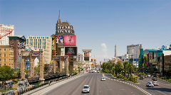 Las Vegas Strip - Day HD Stock Footage