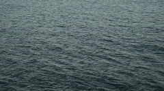 Ocean surface waves passing P HD 4316 Stock Footage