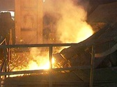 Molten Iron Stock Footage