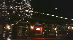 Christmas Town04 Stock Footage