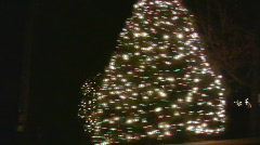 Christmas town05 - stock footage