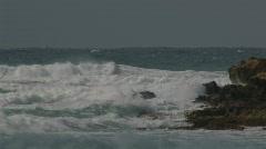 Sea, waves Stock Footage