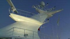 Ship mast evening, #3 Stock Footage