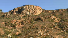 Stock Video Footage of Mountains In California Chaparral
