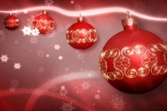 Ornament red Stock Footage