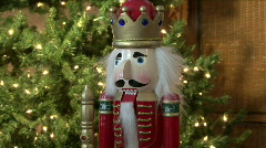 Christmas Nut Cracker - stock footage