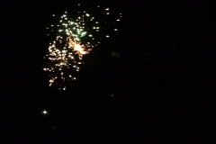 Fireworks and Pyrotechnics - stock footage