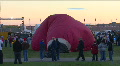 Hot Air Balloon Inflates HD Footage