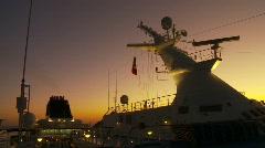 Ship mast Stock Footage