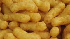 Peanut chips Stock Footage