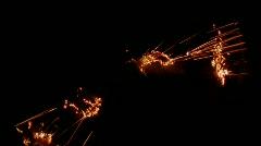 Fire Lightning - FIRE047 HD Stock Footage