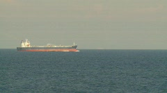 Marine transportation, Cargo ship at sea, #1 Stock Footage