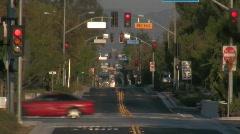 Los Angeles - Orange Line Busway Stock Footage